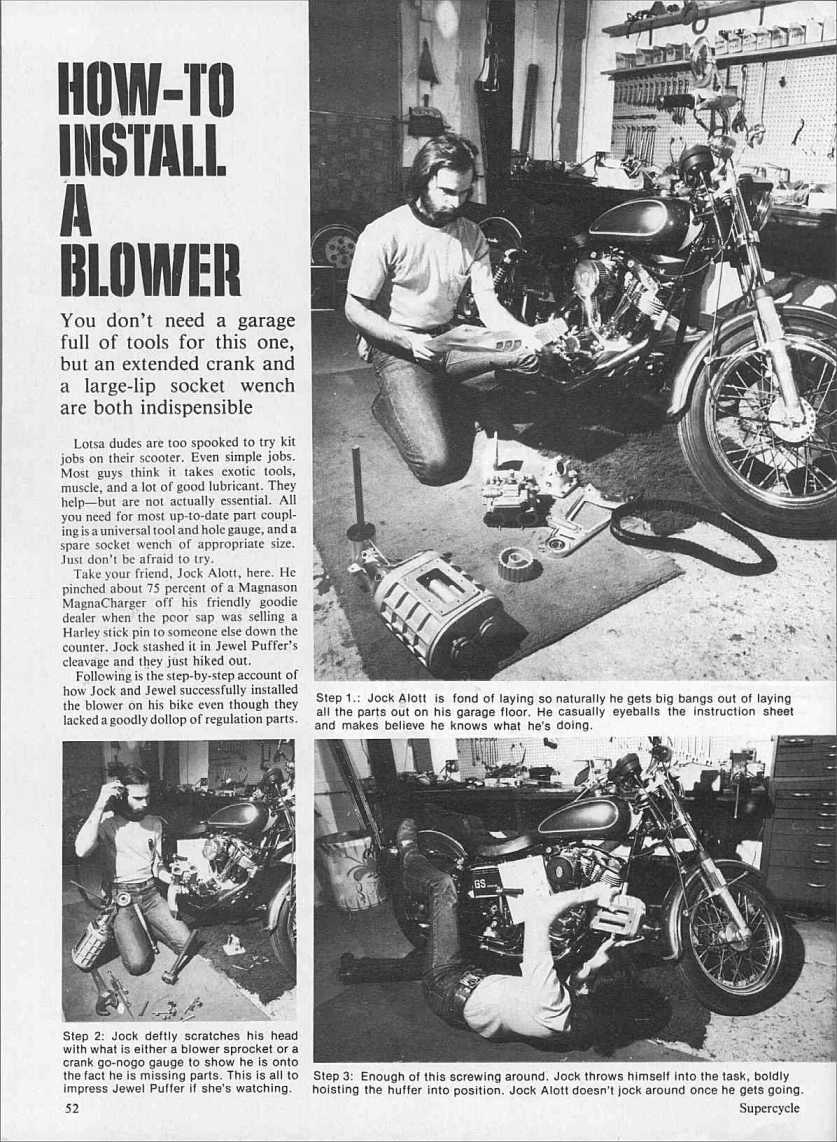 How to install a blower page 1